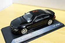 MINICHAMPS 431026020 BMW 6-Series Coupé 2006 Black 1/43 #NEW