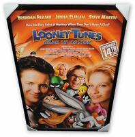 Brendan Fraser  Huge Autographed  Movie Poster Looney Tunes  Framed GV852261