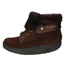 women's shoes MBT 8 / 8,5 (EU 39) ankle boots brown suede performance AB397-B