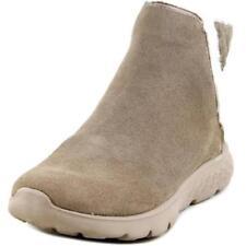 Stivali e stivaletti da donna grigi marca Skechers tacco basso ( 1,3-3,8 cm )