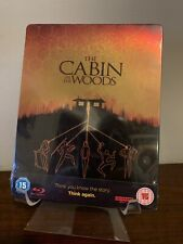 The Cabin in the Woods Steelbook (4K UHD/Blu-ray) Factory Sealed