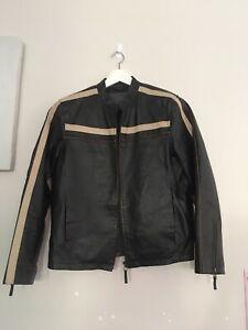 MAXX Leather Men Jacket Size S / 92
