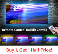 Abstract Style - LED BACKLIT Canvas : USB Powered Wall Art *ABSTRACT CANVAS*