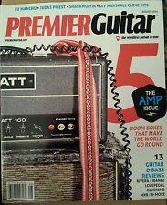 Premier Guitar Amp Issue Boom Boxes Reviews DIY Fu Manchu Aug 2014 FREE SHIPPING