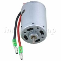 Steel Copper M540T Brush Electric Motor 20000RPM 7.2V-12V w/ Wire for RC1:10 Car