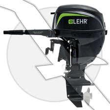 15hp Lehr LP15S Propane Gas Powered Outboard Motor Short Shaft Tiller