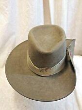 Akubra Australian Slouch Hat, Brass Snap Pin, size 56