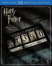 Harry Potter and the Prisoner of Azkaban (Blu-ray Disc, 2016, 2-Disc Set) NEW