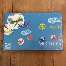 Djeco Airplane Mobile en vol New in Box Baby Nursery Decor
