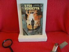 """Lot Of Four Count (4) D.C. Comic Books From 1988, """"''V For Vendetta .Mint ."""