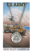 Army with St. Michael necklace along with a laminated prayer card and magnet