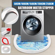 50-250CM Foldable Threshold Bathroom Kitchen Water Stopper Dam Shower Barrier Z