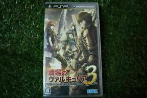 Used Playstation portable PSP Valkyria Chronicles III 3 Unrecorded Chronicles