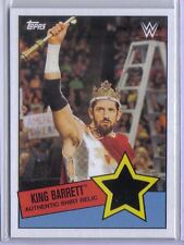 King Barrett 2015 Topps WWE Heritage Authentic Shirt Relic Game Used Jersey