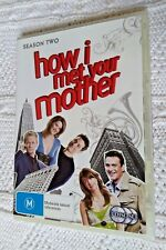How I Met Your Mother : Season 2 (DVD, 3-Disc Set) R-4, LIKE NEW, FREE SHIPPING