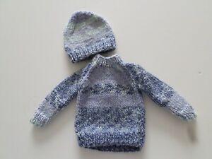 Sweater & Hat for Sasha/Gregor Doll  (3)