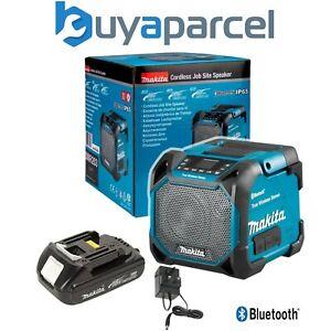Makita DMR203 18v 240v LXT Cordless Bluetooth Speaker LCD Display + 18v Battery