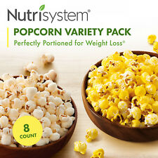 Nutrisystem Popcorn Variety Pack (8 ct Pack) - Delicious, Diet Friendly Snacks