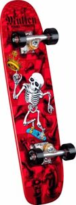 *FACTORY COMPLETE*Powell Peralta Rodney Mullen CHESS Skateboard RED