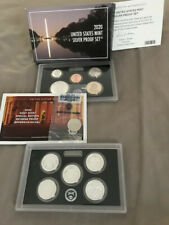 2020 Us Mint Silver Proof set with Reverse Nickel Included .999 Silver With Ogp