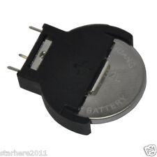 20 x CR2032 2032 3V Cell Coin Battery Socket Holder Case Black 5#