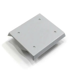 2 Span ABS Wall Mounting Plate for 762 Corrugated Iron, ColorBond or Fibreglass