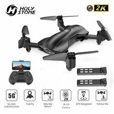 Holy Stone HS165 RC FPV GPS Drohne 2K HD Kamera Faltbar Quadrocopter 2 Akkus