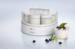 Clatronic Jm 3344 Cookshop, 1.1 Litres, 7 Jars, Colour White, 14 W, Plastic