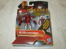 Hasbro Marvel Iron Man 2 Movie Comic Series #34 Silver Centurion Action Figure