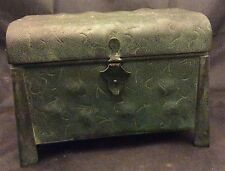 Arst & Crafts Apollo Studios NY Copper Jewelry Box