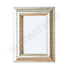 Decorative Picture frame photo poster frame reverse silver gold champagne white