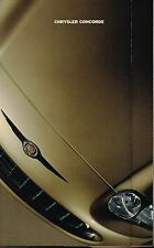 1998 Chrysler CONCORDE Sales Brochure / Pamphlet : LX, LXi