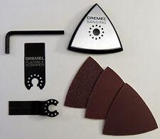 DREMEL MULTI-MAX LOT: WOOD BLADE,SCRAPER,SANDING PAD,SANDPAPER MM440 MM610 MM11