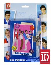 OFFICIAL ONE DIRECTION SECRET DIARY WITH PADLOCK & KEYS, PENCIL (NEW)