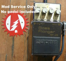 Modify your Boss BF-2B Bass Flanger! Mod service Only (No Pedal)! Alchemy Audio.