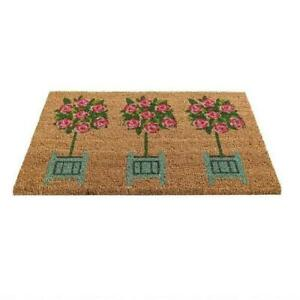 Gardman 'Rose Tree' Printed Coir Door Mat 82673