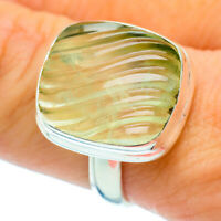 Prehnite 925 Sterling Silver Ring Size 9 Ana Co Jewelry R36753F