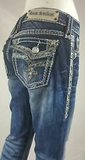HOT ROCK REVIVAL EASY  BOOT THICK STITCH SIZE 26  GINGER  FLAP POCKETS $178