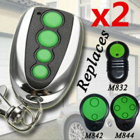 2x Garage Door Remote Control Replacement for Merlin M844 M832 M842 230T 430R AU
