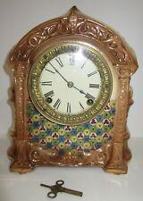 New ListingAntique Ansonia Porcelain Clock 8-Day, Time and Strike, Key-wind