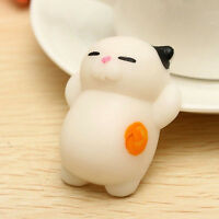 New Squishy Ushihito Cute Soft Strap Bread Lazy Sleep Cat Slow Rising Relief Toy