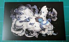 Greg Craola Simpkins Cloud Theory Showcard Print Gather Round Mini poster Art