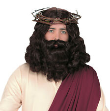Halloween Adult Jesus With Wig and Beard Set. Delivery
