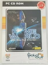 Home World 3D Real Time Strategy PC CD-ROM Game Sealed.Retro Gamer.
