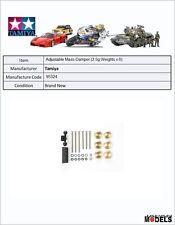 Mini 4wd Adjustable Mass Dampers (2.5g Weights x 6) Tamiya 95324 New Nuovo