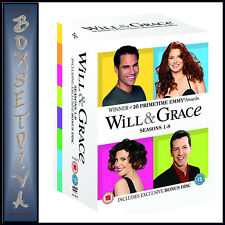WILL AND GRACE - SERIES 1 2 3 4 5 6 7 & 8 COMPLETE COLLECTION **BRAND NEW BOXSET