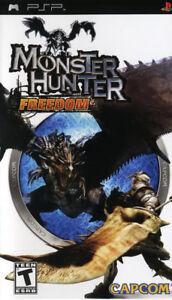 Monster Hunter Freedom PSP New Sony PSP