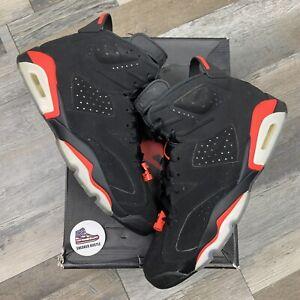 Nike Air Jordan 6 Retro Black Infrared (2019) 384664-060 Size 10.5