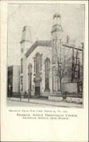 c1905 Brooklyn NY Eagle Postcard #379 Franklin Ave Church