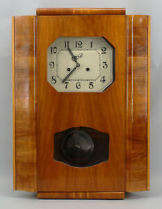 99820060 Regulator Wall Clock Type Deco USSR 50er Years